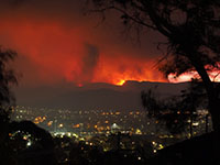 Orroral Valley Fire, 28. Januar 2020 (Foto: Nick-D, Wikimedia Commons, CC BY SA 4.0).