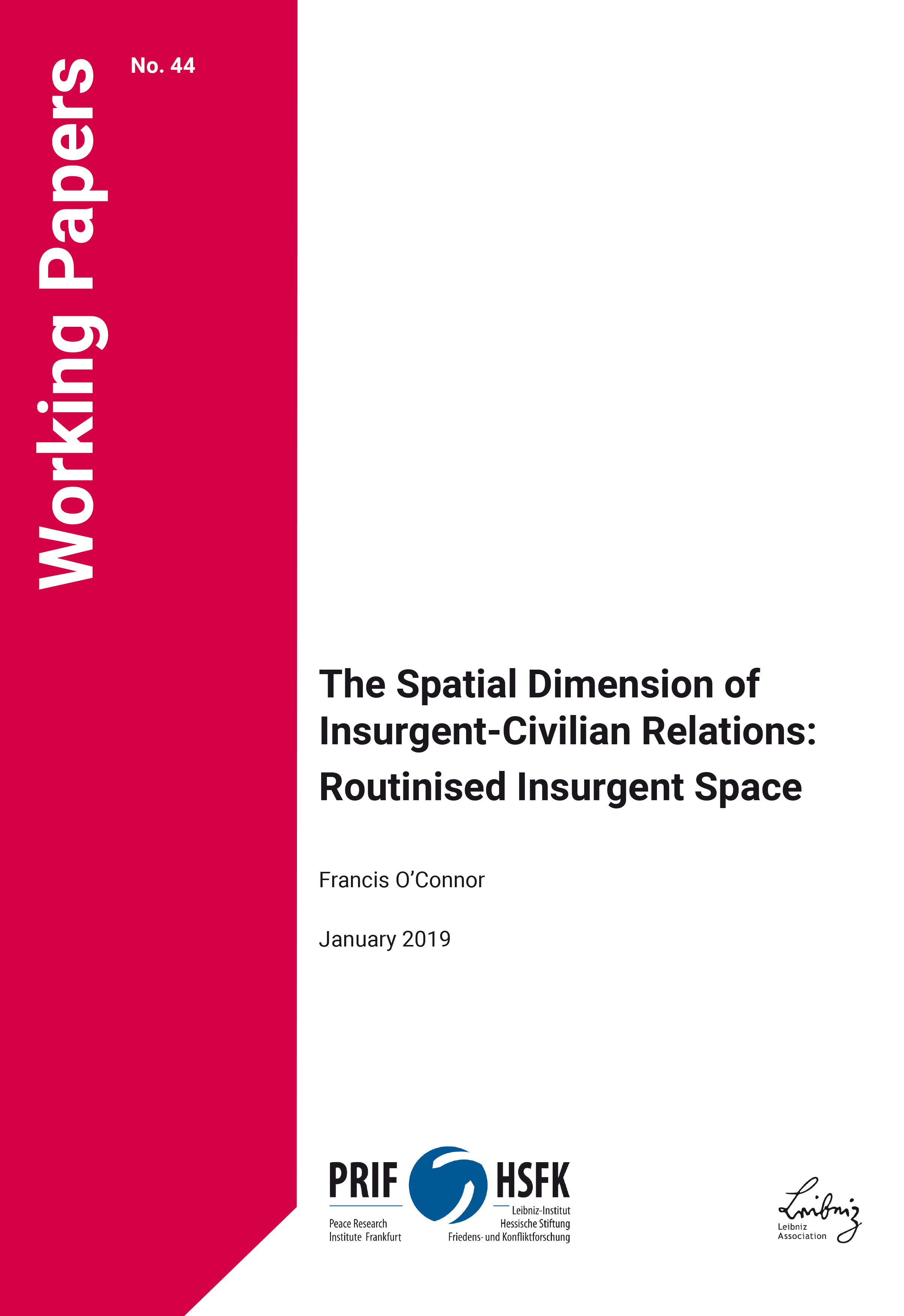 Download: The Spatial Dimension of Insurgent-Civilian Relations: Routinised Insurgent Space