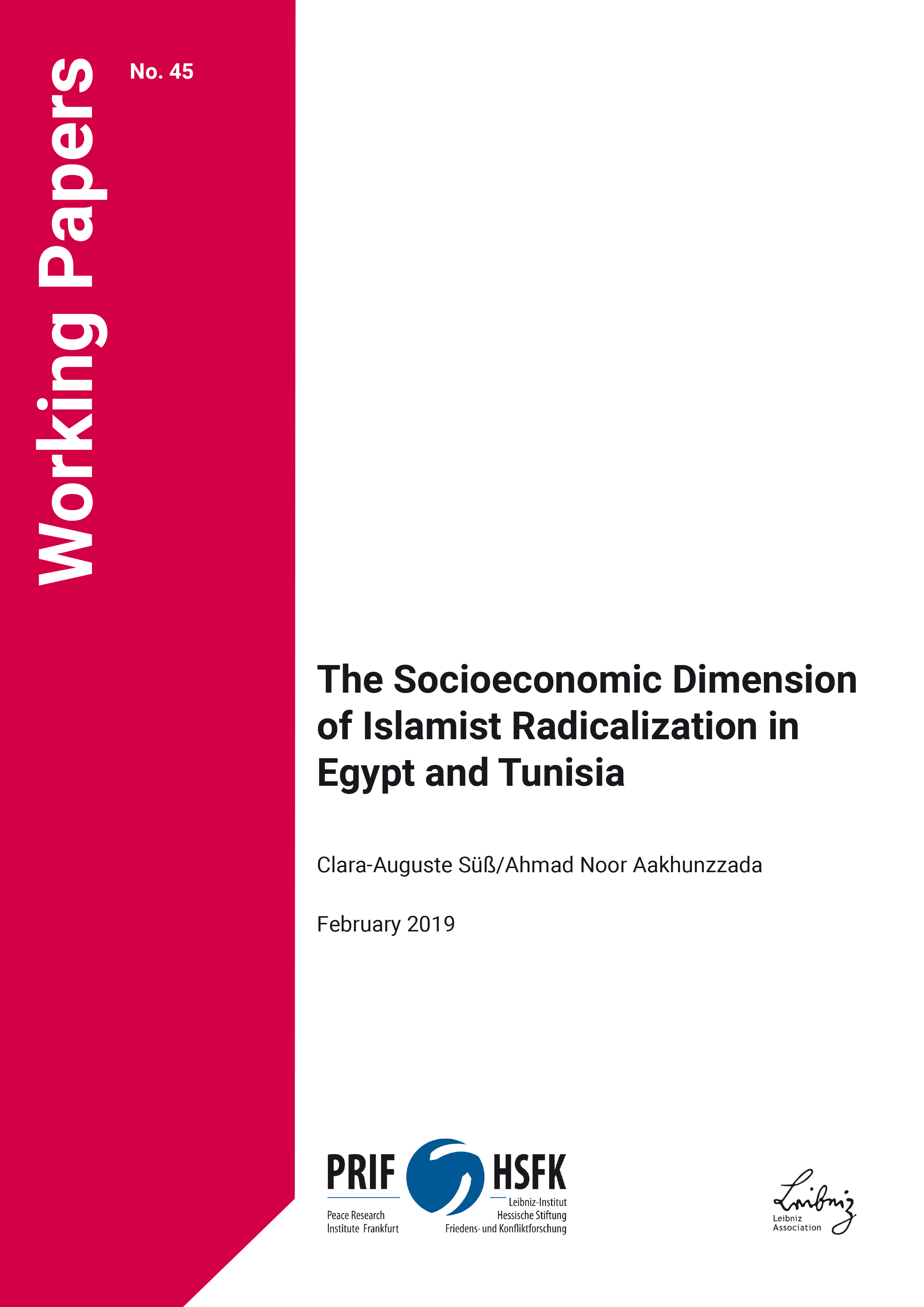 Download: The Socioeconomic Dimension of Islamist Radicalization in Egypt and Tunisia