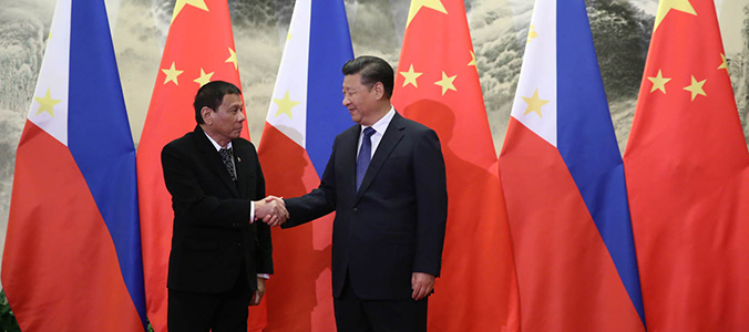 Conflict between China and the Philippines