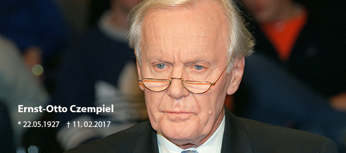 PRIF mourns loss of Ernst-Otto Czempiel