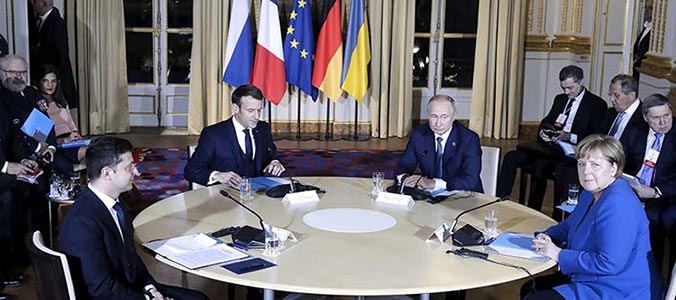 What does the Normandy Summit mean for the peace process in Ukraine?