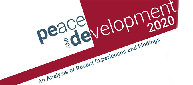 Peace and Develop­ment 2020