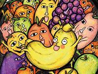 """Illustration aus """"Die Wutbanane"""" (Bild: Chunhua Chen)"""