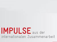 Impulse aus der internationalen Zusammenarbeit