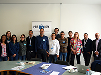 Colombian scientific delegation visits PRIF. (Photo: HSFK)