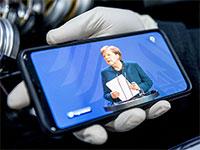 Angela Merkel verkündet Einschränkungen im öffentlichen Leben (Foto: picture alliance, Fabian Sommer)