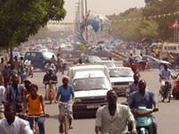 Place des Nations Unies in Ouagadougou, Burkina Faso (Photo: Wikimedia Commons/Helge Fahrnberger, CC BY-SA 3.0, https://bit.ly/36ZSRHJ).