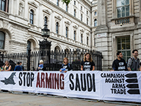Protest against arms sales to Saudi Arabia, London (Campaign Against Arms Trade, http://bit.ly/2neJZbk, CC BY-SA 2.0)