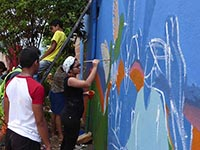 """Paint Your Voice"" Event in Colombia (Photo: United Nations Photo, flickr, https://bit.ly/2zqisLb, CC BY NC ND 2.0)"