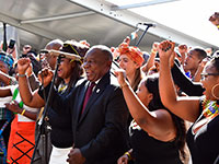 South African president Ramaphosa. Photo: GovernmentZA (https://bit.ly/316oNXZ) | CC BY-ND 2.0