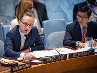 Heiko Maas im UN-Sicherheitsrat. Foto: UN Photo/Loey Felipe