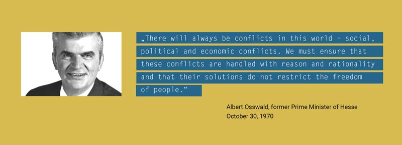 Quote by Albert Osswald, PRIF founder (Graphics: PRIF)