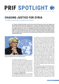 Download: Chasing Justice for Syria