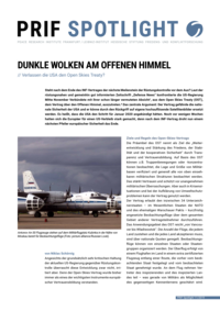 Download: Dunkle Wolken am offenen Himmel