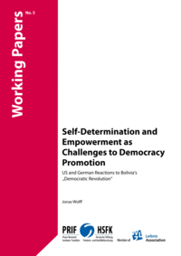 Download: Self-Determination and Empowerment as Challenges to Democracy Promotion