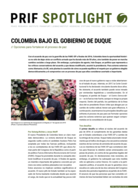 Download: Colombia Under the Duque Government