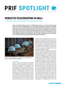 Download: Robustes Peacekeeping in Mali